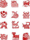 Chinese zodiac animal symbol
