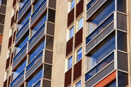 Photo for Balconies of residential building - Royalty Free Image