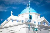 Kostel angios nikolaos, mykonos, Řecko
