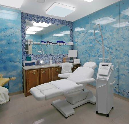 Photo pour Clinique de cosmétologie - image libre de droit