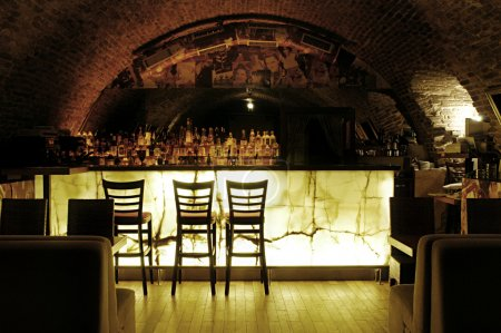Picture of modern bar interior...