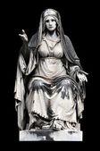 Allegorical sculpture (Charity)