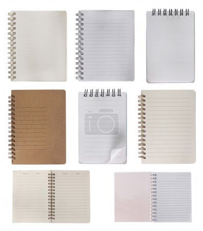 Collection of notebook