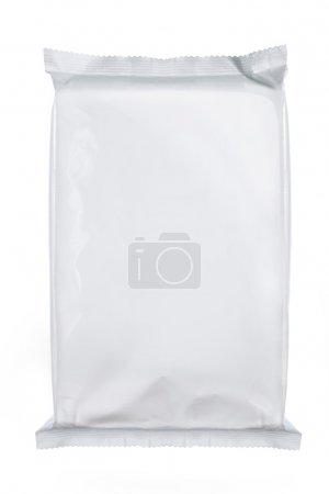 Photo for White blank foil packaging. for another blank packaging visit my gallery - Royalty Free Image