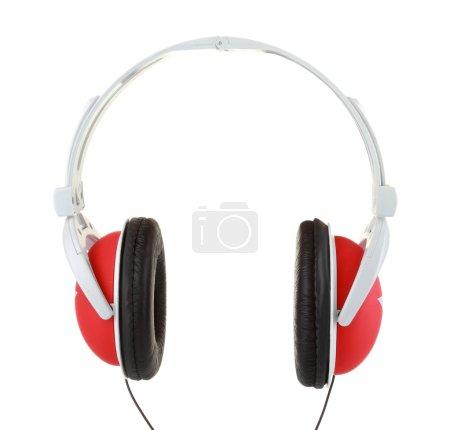 Coseup of headphones