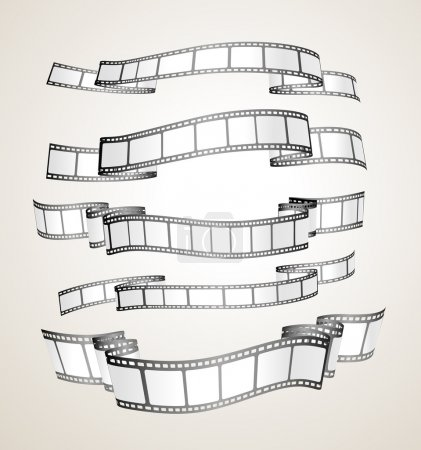 Film strip banners