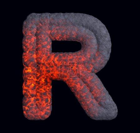 Hot Iron font