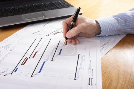 Photo pour Planification du projet - image libre de droit