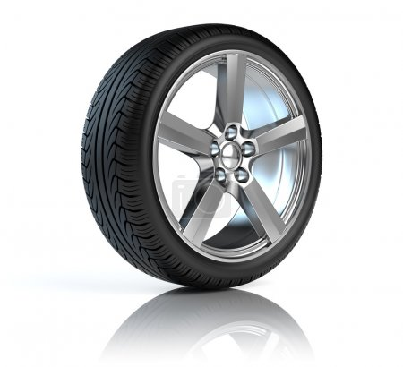 Photo for Car wheel - Royalty Free Image