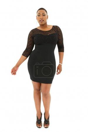 Beautiful Sexy Black Plus Size Model