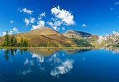 O bautiful horu s jezerem