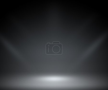 Photo for Dark Spotlight Room Background - Royalty Free Image