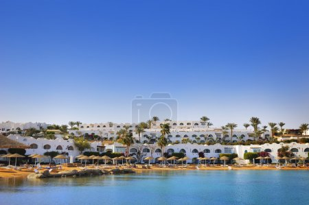 Luxury hotel in Naama Bay, Sharm el Sheikh, Egypt