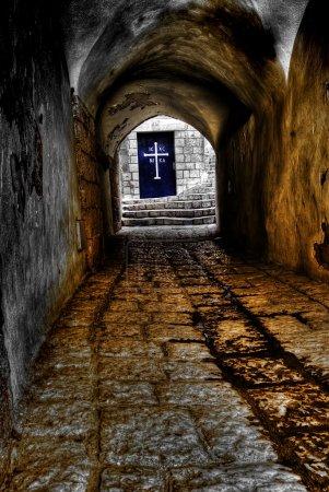 Foto de Calle en el casco antiguo de jaffa, israel - Imagen libre de derechos