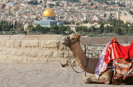 Jerusalem and the Dome of the rock...
