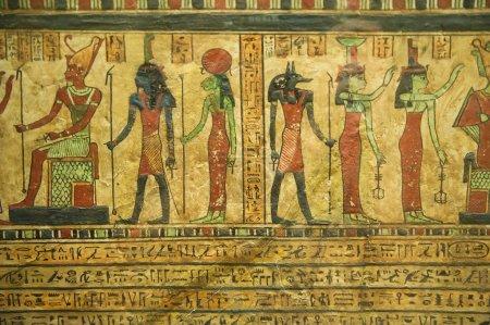 Photo pour Hiéroglyphes égyptiens antiques - image libre de droit