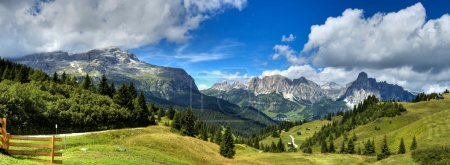 Photo for View of the mount alta badia - Italy - Royalty Free Image
