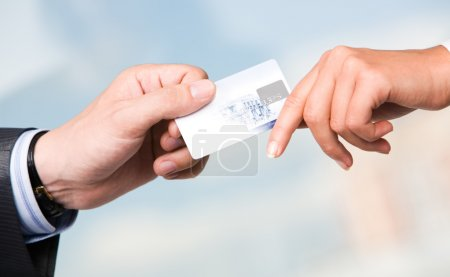 Transfer of credit card