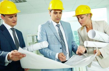 Discussing blueprint