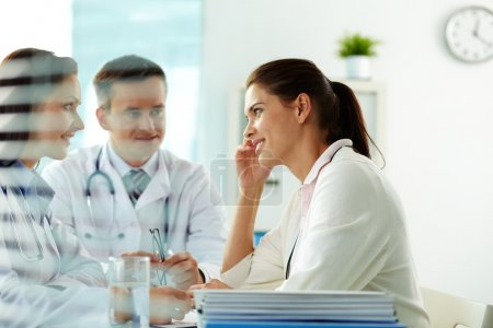 Physicians and patient