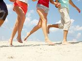Running on sand