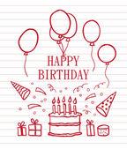 Doodle Happy Birthday