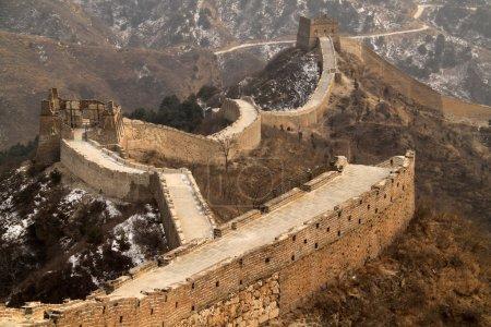 Photo pour Grande Muraille autour de Pékin - image libre de droit