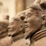 Terracotta army in Xian...